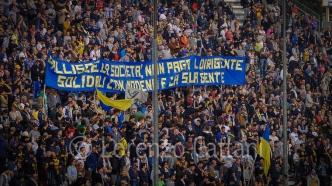 21/10/2017 - Parma-Entella 3-1 (FALLISCE LA SOCIETA', NON PAGA IL DIRIGENTE - SOLIDALI CON MODENA E LA SUA GENTE)