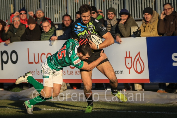 2017-12-30 - Zebre Rugby - Benetton Treviso 16-20