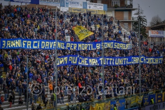 25/3/2018 - Parma-Foggia 3-1 (3 ANNI FA CI DAVANO PER MORTI... SI SONO SBAGLIATI - ORA PIU' CHE MAI, TUTTI UNITI... CARICA CROCIATI)