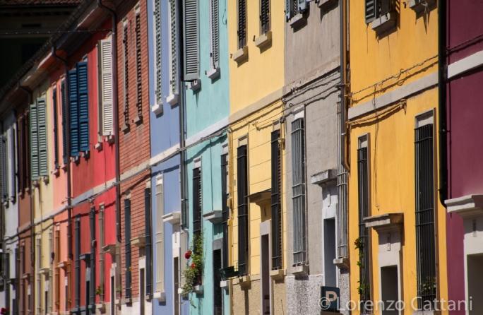 I colori di Via della Salute