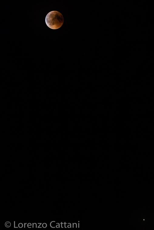 Eclissi totale di Luna e Marte - 27-7-2018