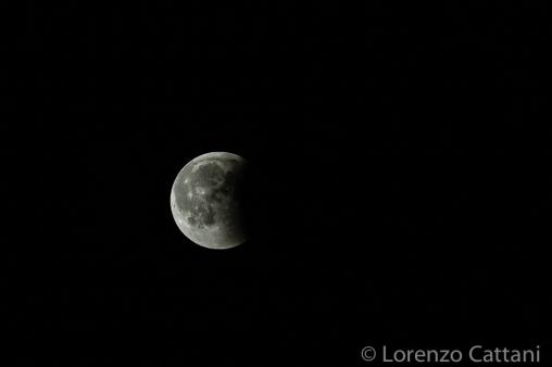 Eclissi totale di Luna - 27-7-2018