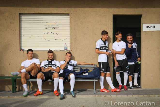 25/10/2015 - Lentigione - Parma 0-3 Lo spogliatoio ospiti