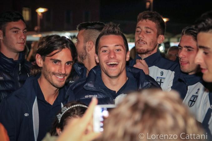 25/10/2015 - Lentigione - Parma 0-3. Melandri, Sereni e Saporetti.