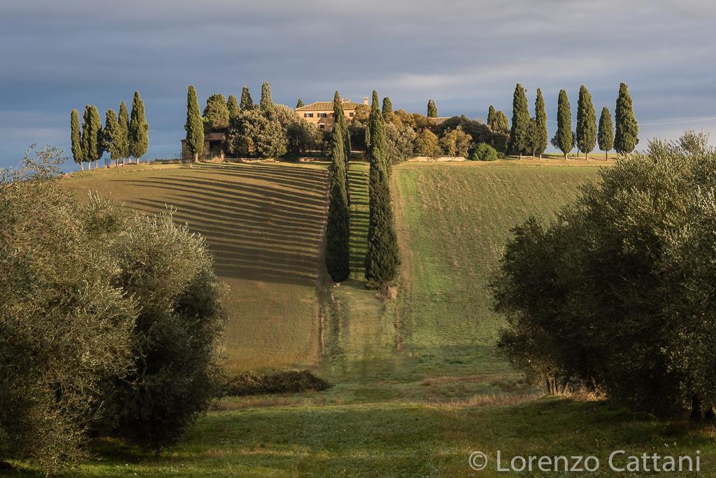"""La casa de """"Il Gladiatore"""" (Podere di Poggio Manzuoli)"""