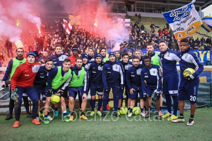 2016-12-18 - Rifinitura pre-Derby al Tardini