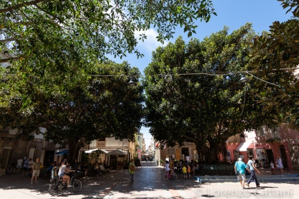 Carloforte, piazza Repubblica