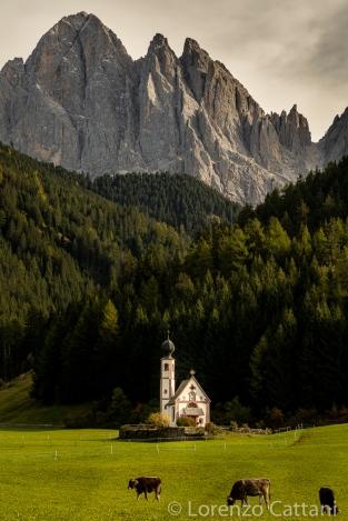 Chiesetta di San Giovanni in Ranui, Santa Magdalena (Val di Funes) BZ