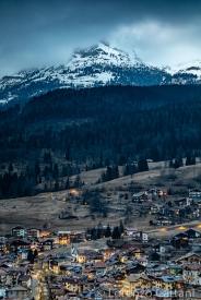 Moena, la Fata delle Dolomiti, sovrastata dalla Roda di Vael