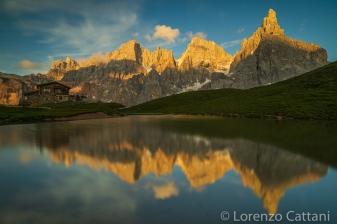 Passo Rolle (Baita Segantini, 2200 m)